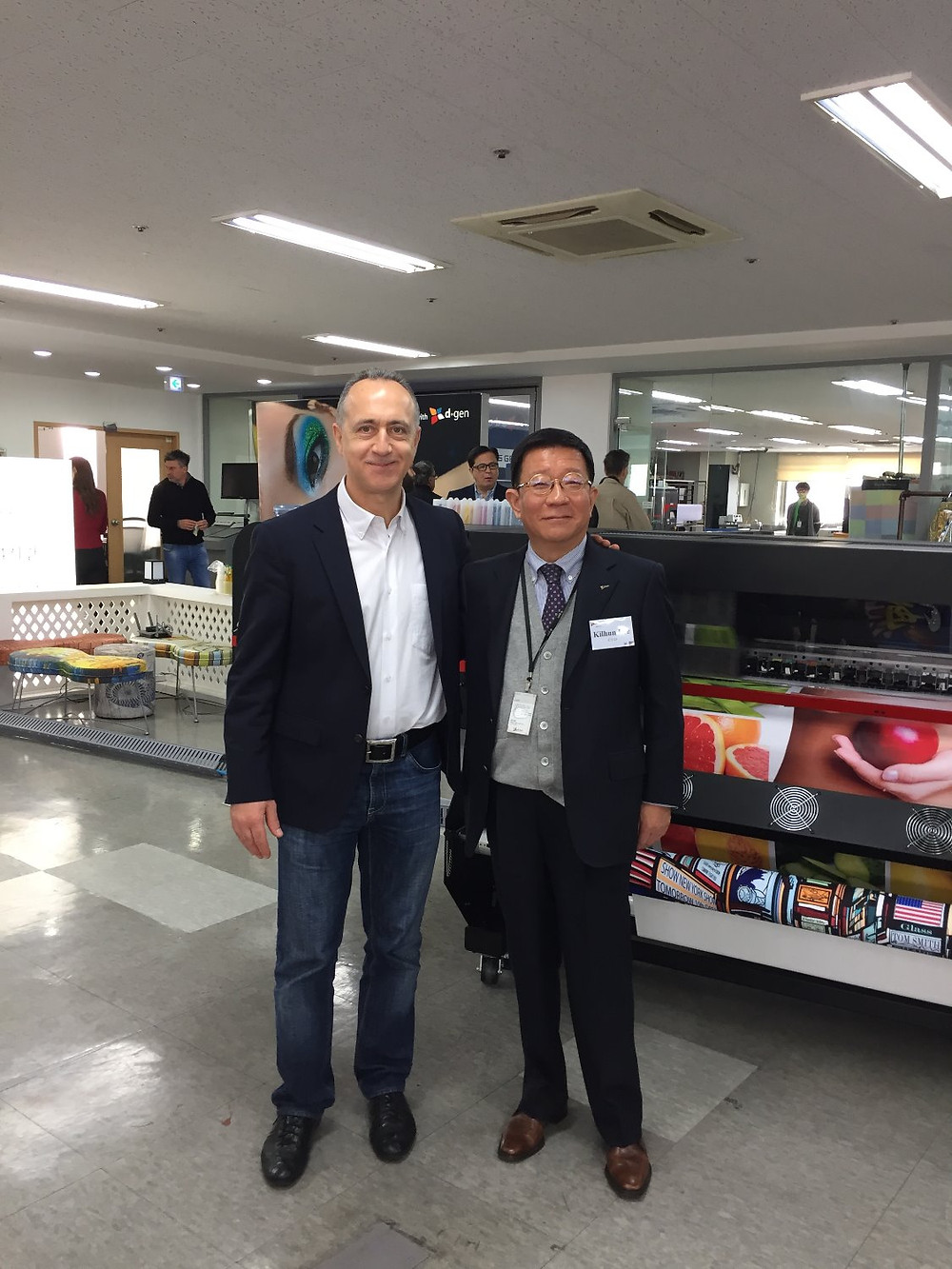 Mr.Kilhun Lee, Chairman and CEO of D-Gen, Inc. & Mr.S.Kulakov