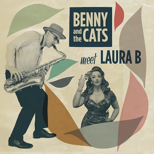 """Benny & The Cats meet Laura B. 7"""" Vinyl"""