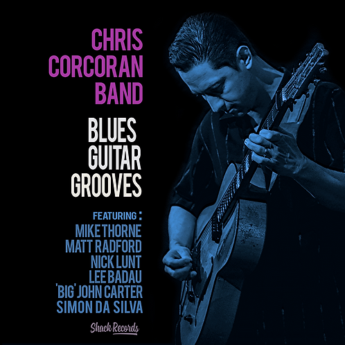 Chris Corcoran Band | Blues Guitar Grooves (CD)