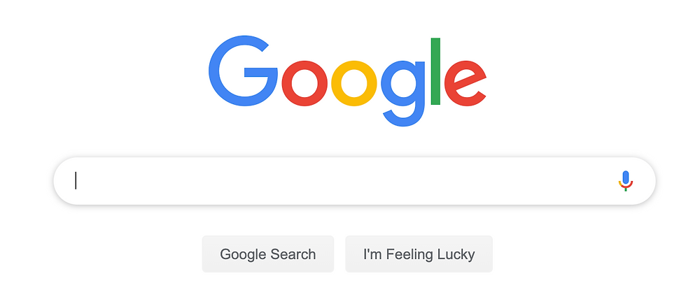 Google search engine bar