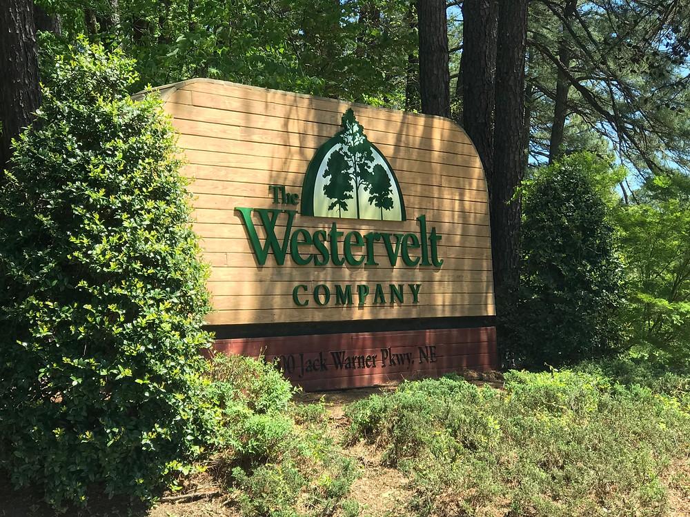 The Westervelt Company Tuscaloosa signage