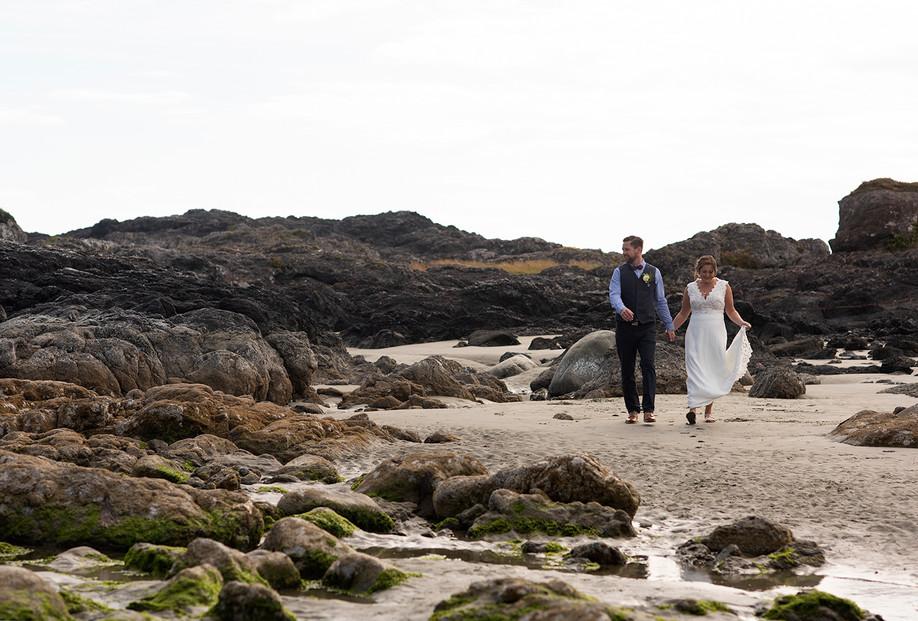 Emily & Sean || Chesterman Beach Wedding || Tofino Wedding Photographer