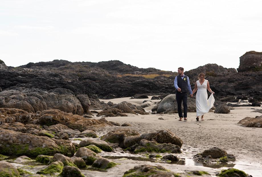 Emily & Sean    Chesterman Beach Wedding    Tofino Wedding Photographer