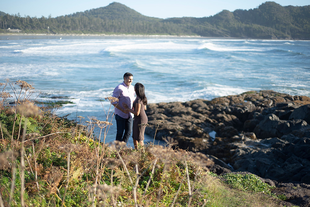 wedding photographers Tofino Cox Bay