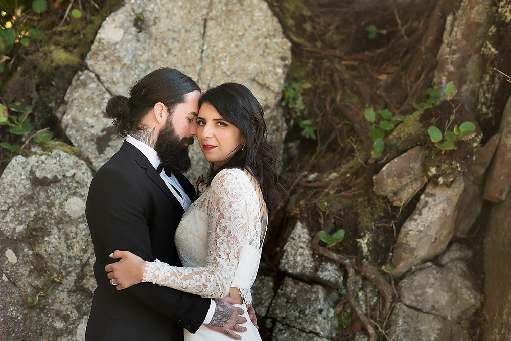 Eloping to Ucluelet. Photographed by Kaitlyn Shea.