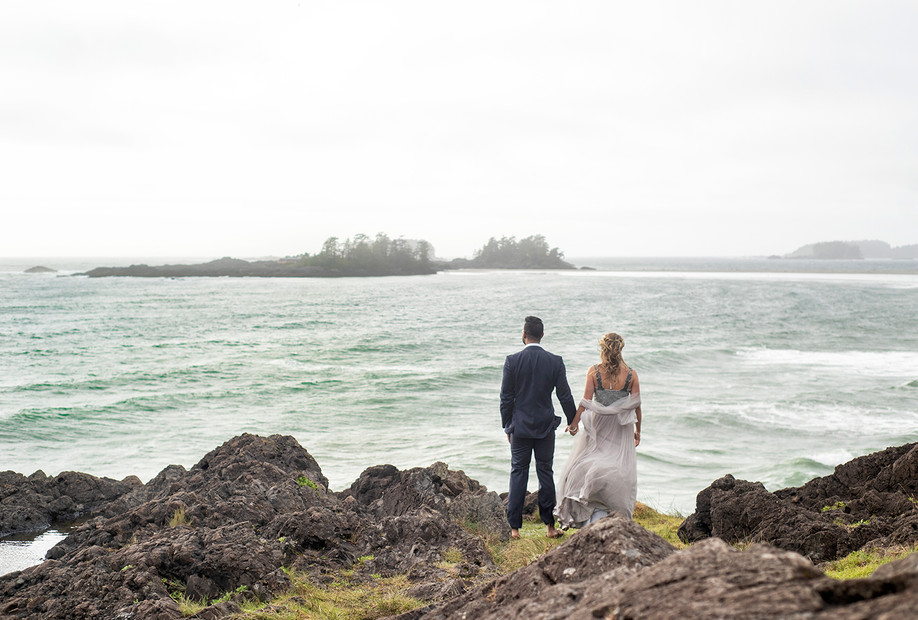Small Wedding in Tofino || Anna & Sunny || Tofino Wedding Photographer