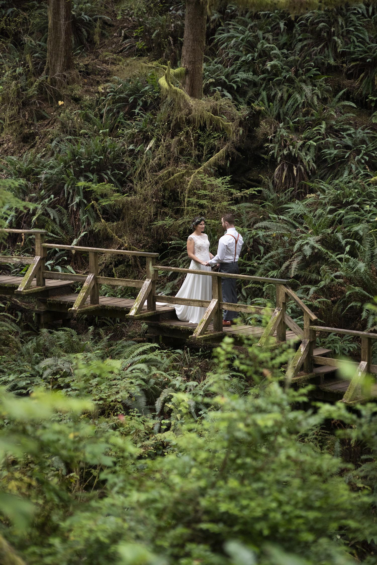 Destination Wedding in Tofino