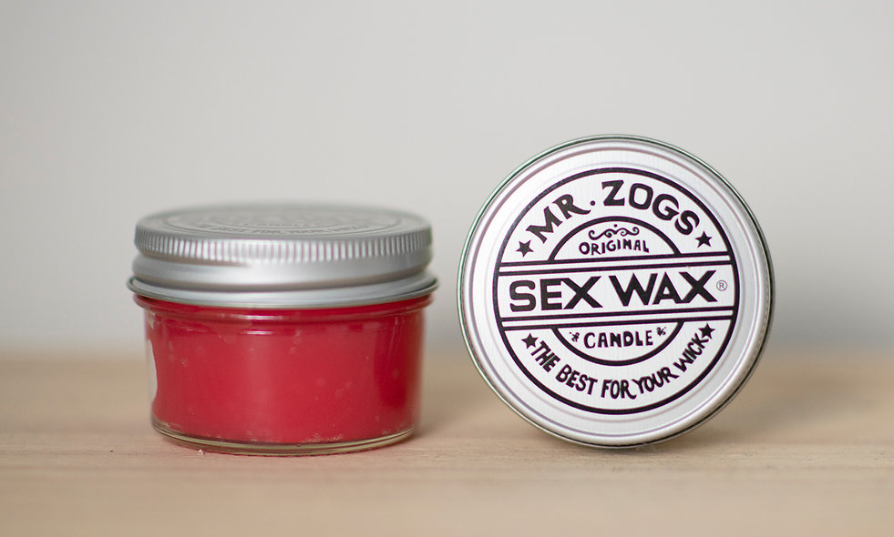 Mr Zogs Candle Strawberry