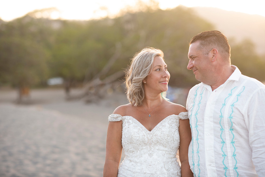 Beach Wedding at Riu Guanacaste, Costa Rica || Lonnie & JP
