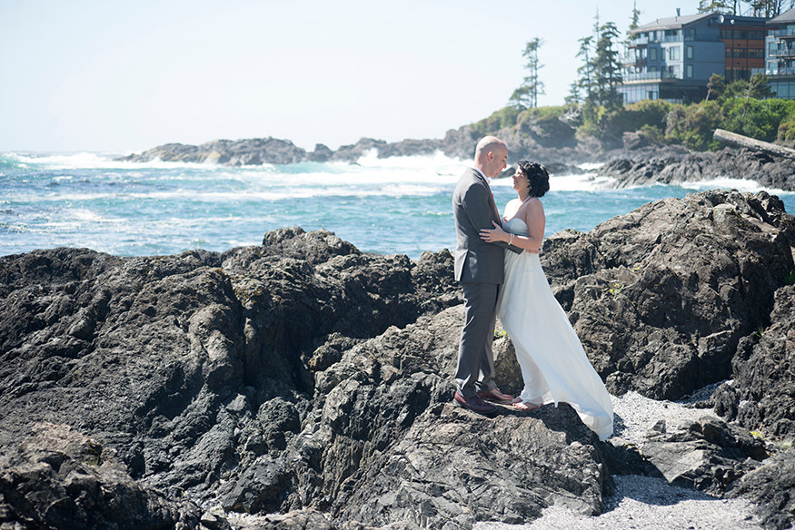 Intimate Ucluelet Wedding  || Janie & Rob