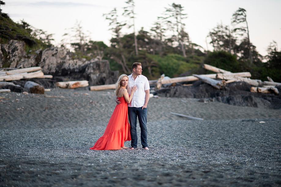 Engagement Photos in Tofino || Nikki & Chad