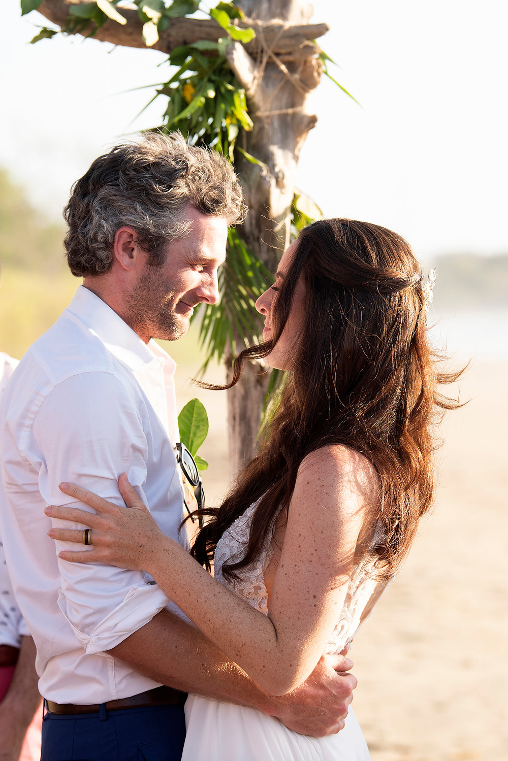 Destination wedding in Playa Grande, Costa Rica. Photographed by Kaitlyn Shea.