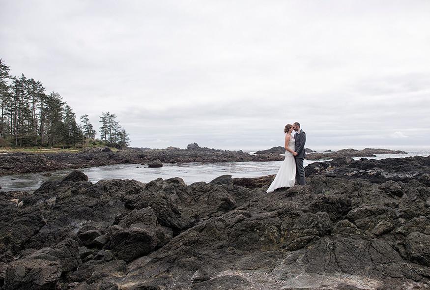 Ucluelet Wedding at Black Rock Resort || Katlyn & Russ