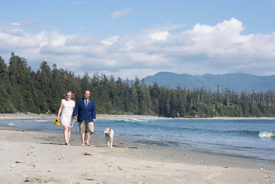 Intimate Wedding at Florencia Bay, Ucluelet || Jelisa & Danny