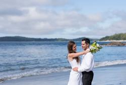 Wedding at Tonquin Beach Tofino