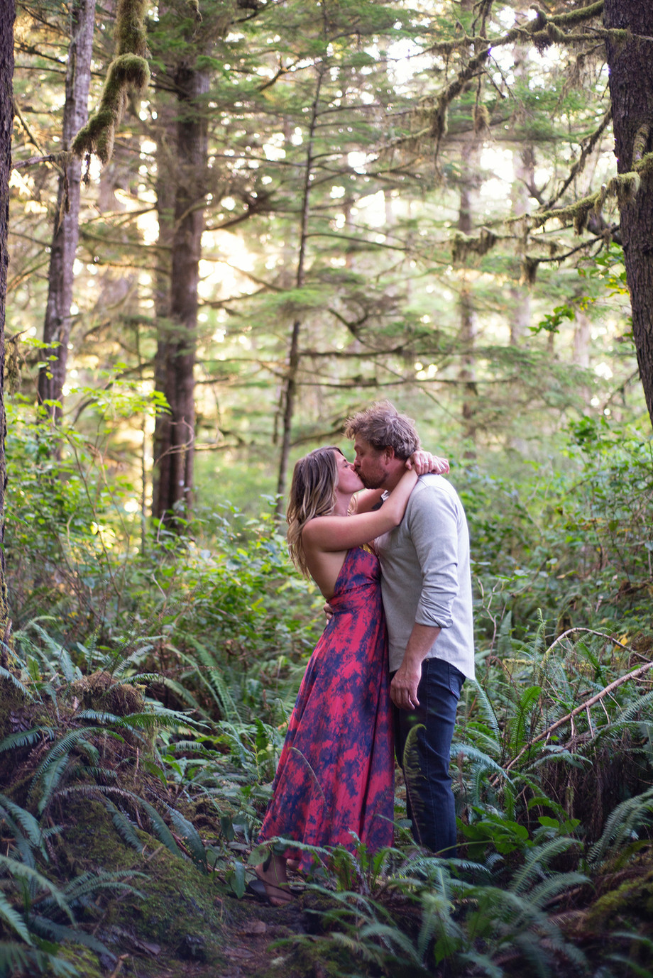 Engagement Photos in Tofino || Kris & Emma