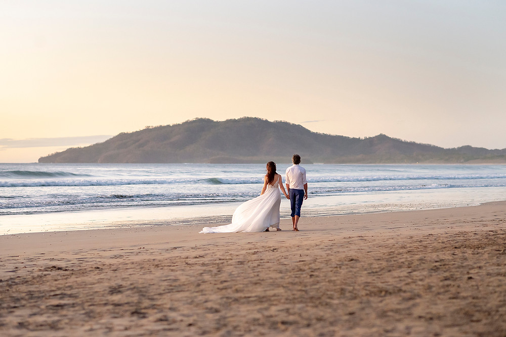 Playa Grande destination wedding in Costa Rica. Photographed by Kaitlyn Shea.