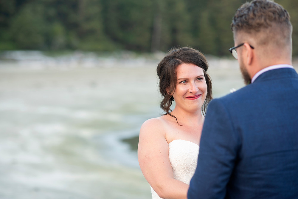 wedding in Tofino