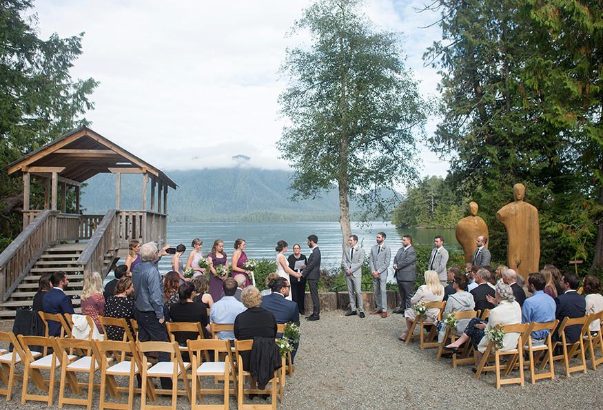 Tofino Botanical Gardens Wedding || Danielle & Christian
