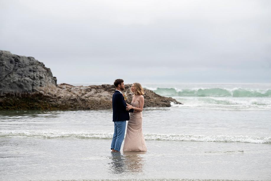 Eloping to Tofino || Adam & Maryanne || Tofino Wedding Photographer