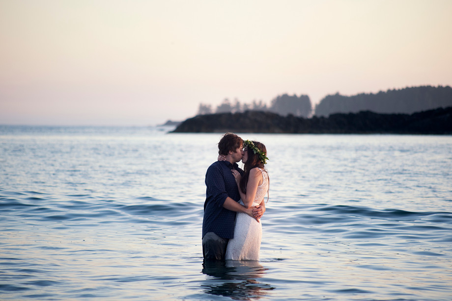 Beach Elopement in Tofino || Billy & Marissa