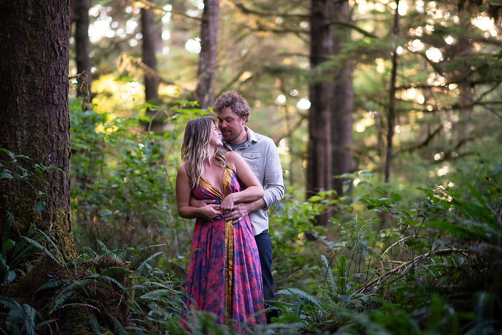 engagement photographer in tofino. Photographed by Kaitlyn Shea
