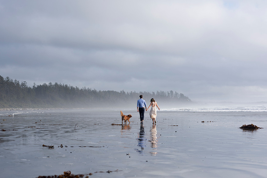 Wedding Photos in Tofino || Marlise and Stephen