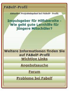 Kommunikationsforum FABelF-Profil