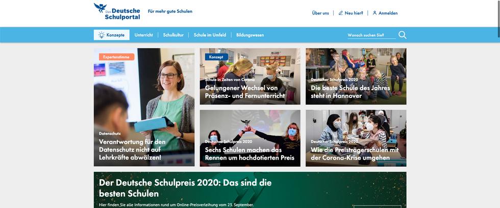 Das Deutsche Schulportal