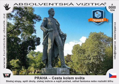 vizitka TRIPPER Praha 6