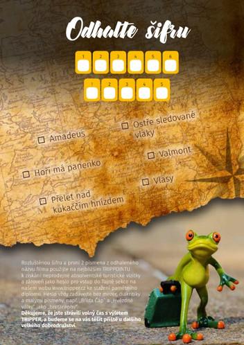 tajenka TRIPPER Čáslav