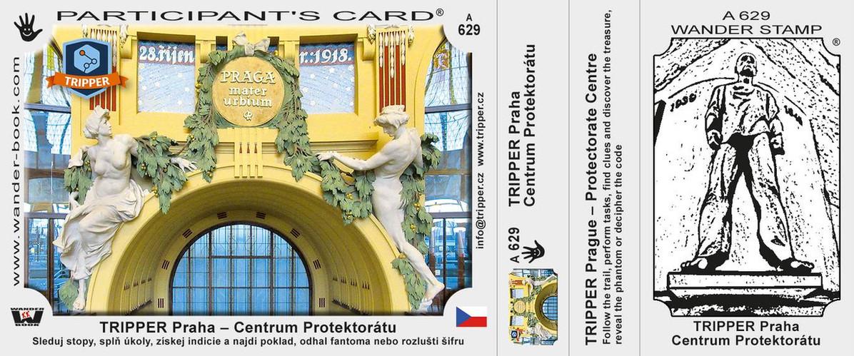 vizitka TRIPPER Praha Protektorát