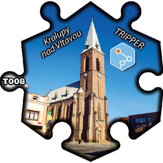magnetka T008 Kralupy