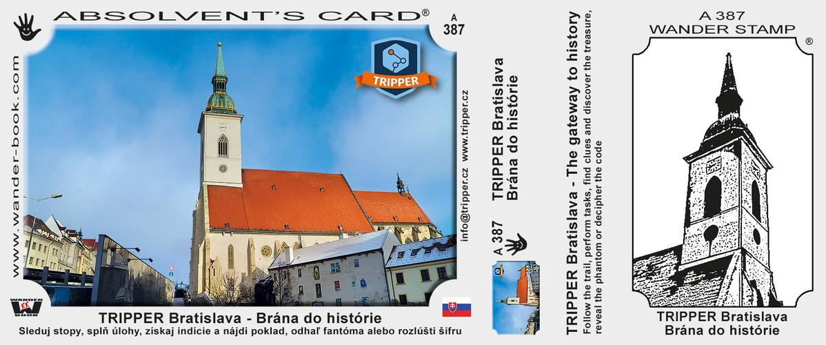 vizitka TRIPPER Bratislava