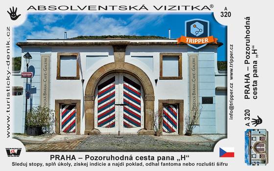 vizitka TRIPPER Praha