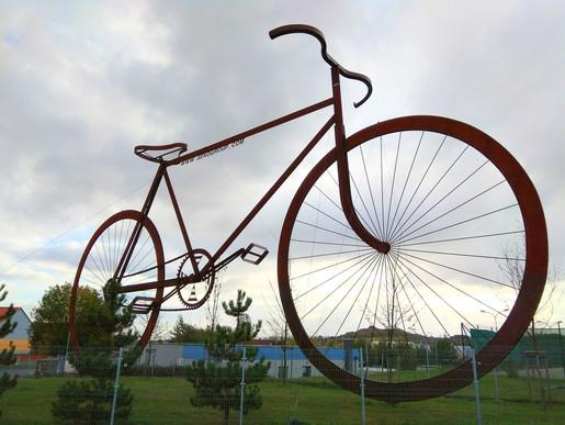 obří kolo v Lounech