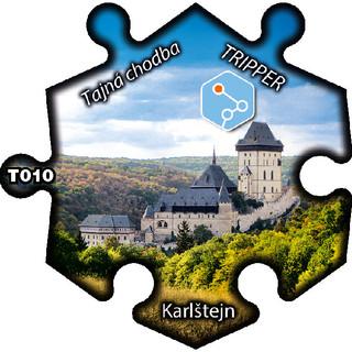 magnetka T010 Karlštejn