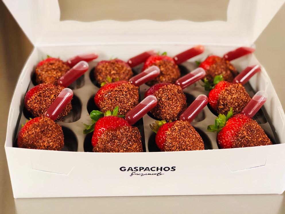 Chamoy Strawberries