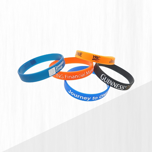RECYCLED SILICONE WRIST BAND