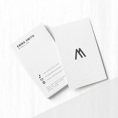 BIZCARDS - Square Corners