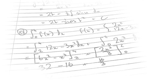 Mathematical working out