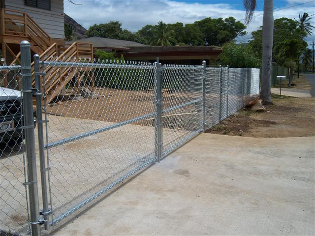 Chain Link Swing Gates
