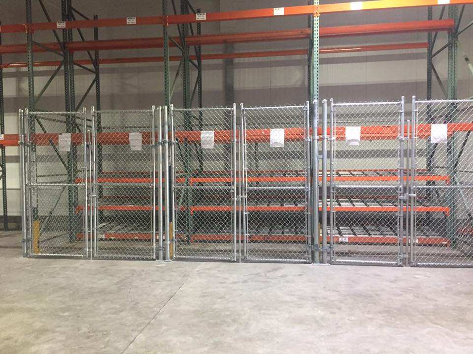 Foodland Chain Link Enclosure