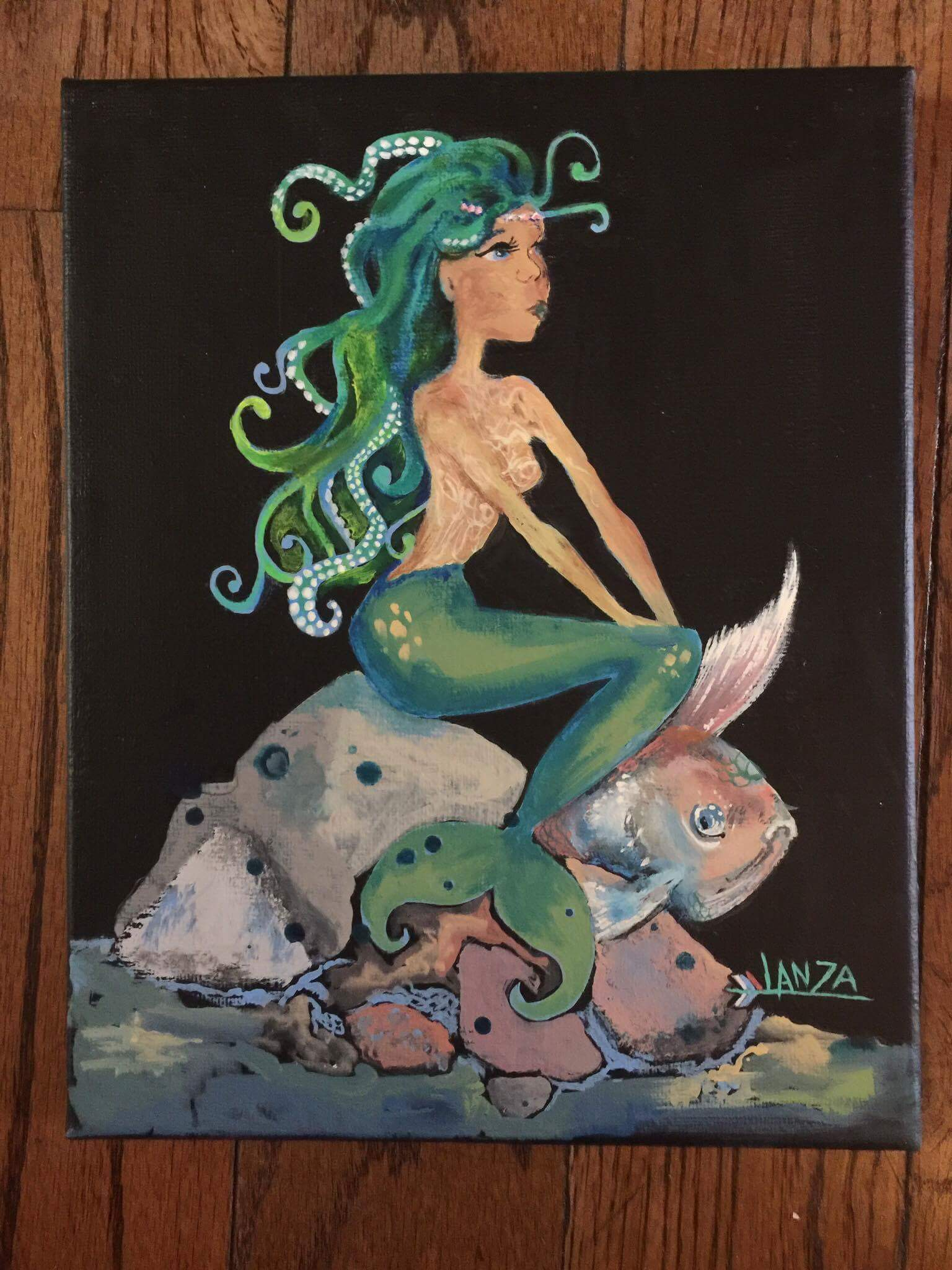 Art by Ivonne 2, Mermaid