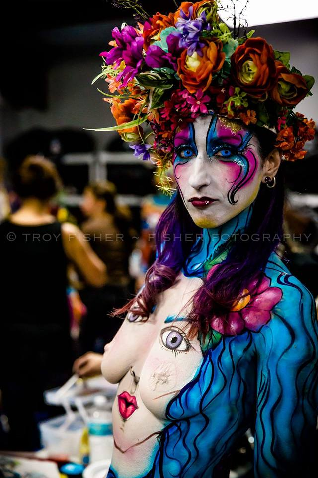 FAB Art Shows and More Body Painting
