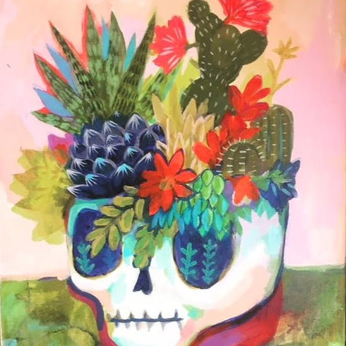 """Grow where you are planted """"life from bones"""""""