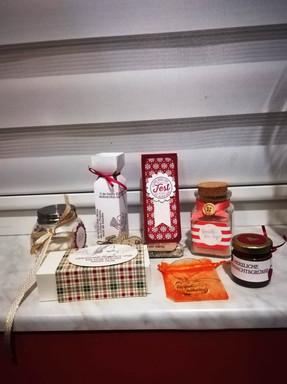 Weihnachtsbastelei und Geschenke mit äth. Ölen