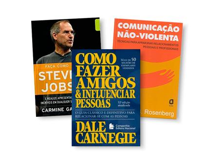3 livros para aprimorar a comunicação e os relacionamentos