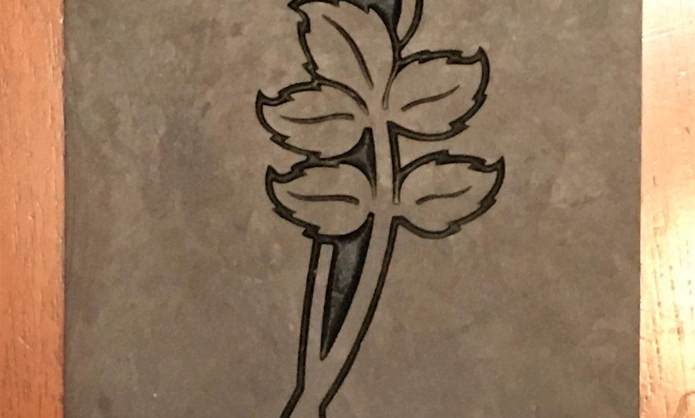 Slate Engraving Example