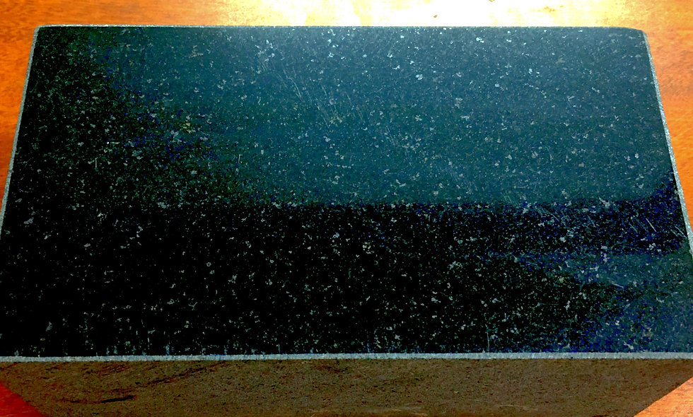 Polished Black Granite Paver